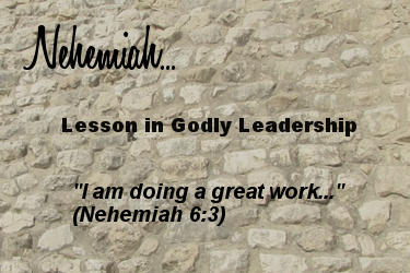 Nehemiah: I am doing a reat work
